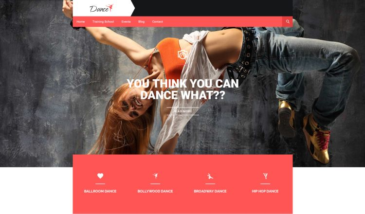 dance-academy-premium-wordpress-theme