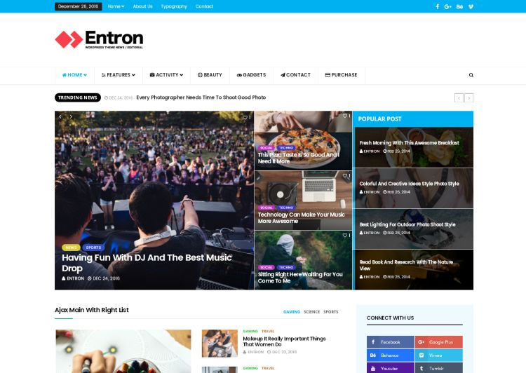 entron-premium-wordpress-theme