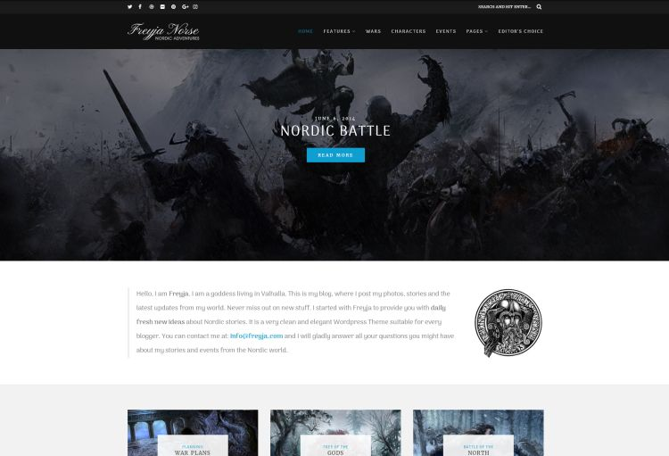 freyja-premium-wordpress-theme
