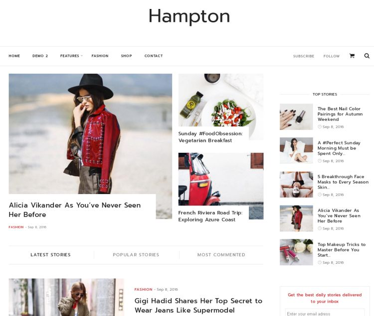 hampton-premium-wordpress-theme