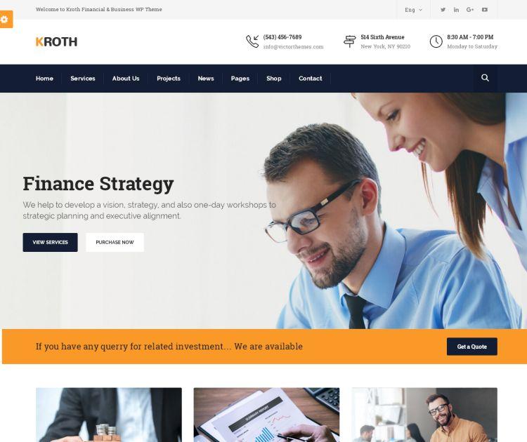 kroth-premium-wordpress-theme
