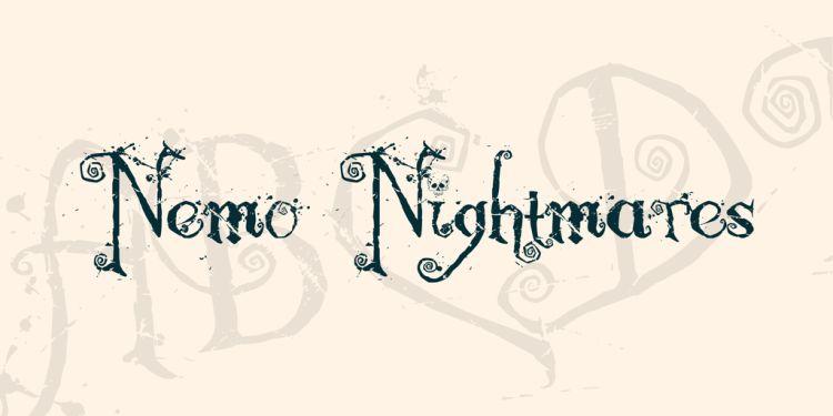 nemo-nightmares-font