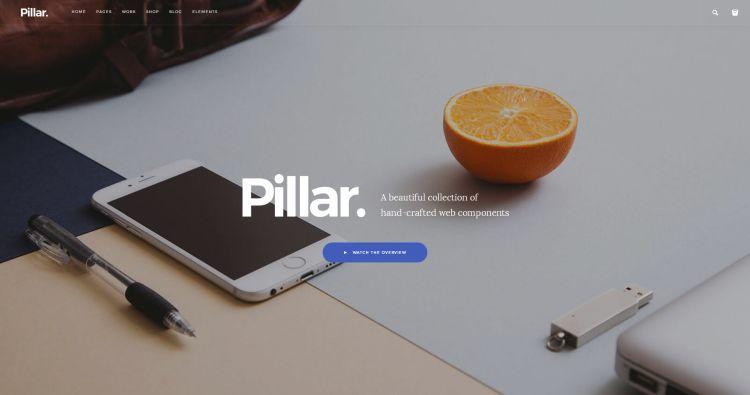 pillar-premium-html-template