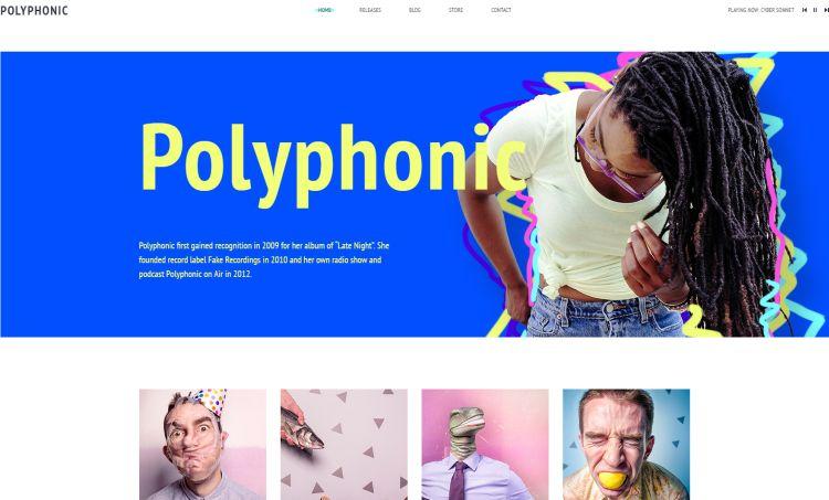 polyphonic-premium-html-template