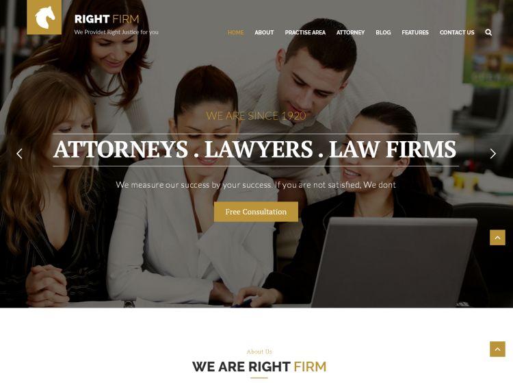 right-firm-premium-wordpress-theme