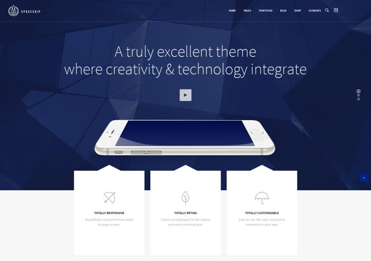 spaceship-premium-wordpress-theme