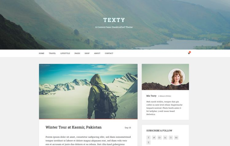 texty-premium-html-template