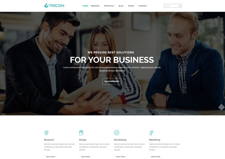 tricon-premium-wordpress-theme
