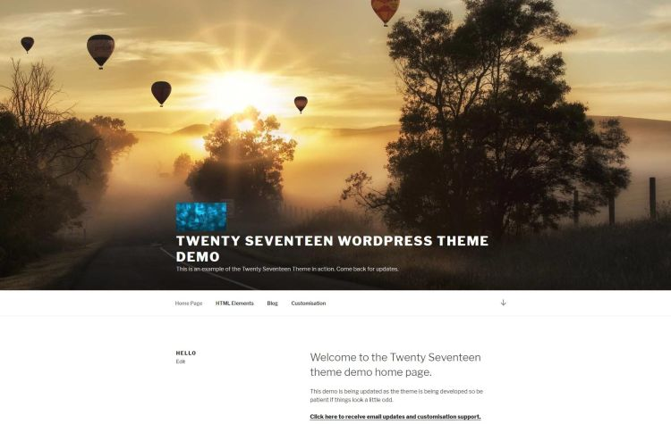 twenty-seventeen-default-wp-theme