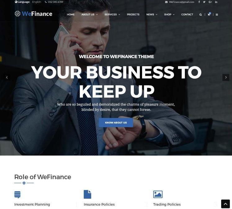 we-finance-premium-wordpress-theme