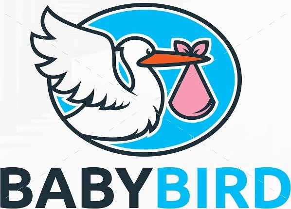 Baby Bird Logo Template
