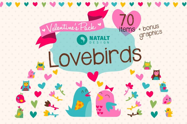 Lovebirds Valentine's Pack