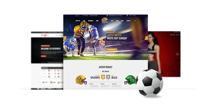 Soccer and Sports WordPress Themes for February 2017