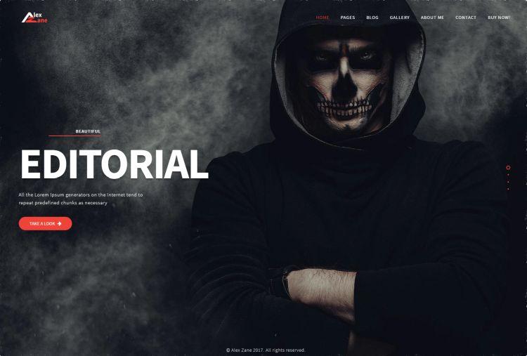 alex-zane-premium-wordpress-theme
