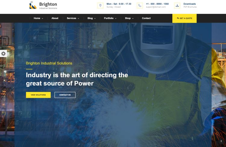 brighton-premium-wordpress-theme