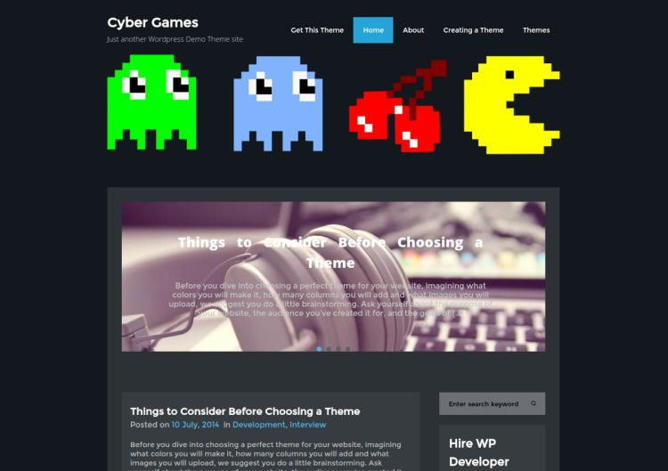 cybergames-free-wordpress-theme