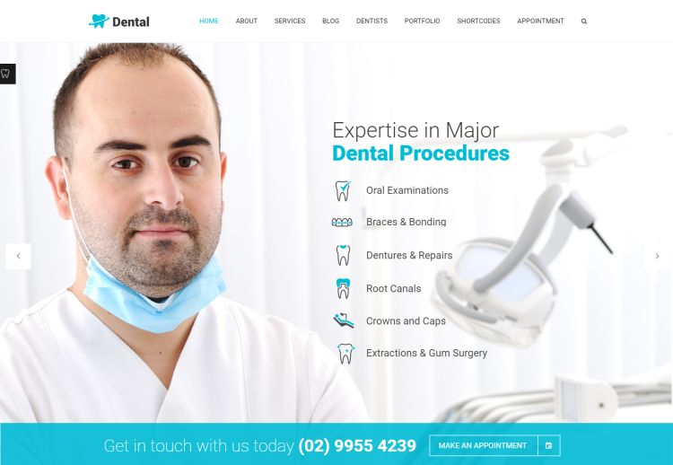 dental-health-premium-wordpress-theme