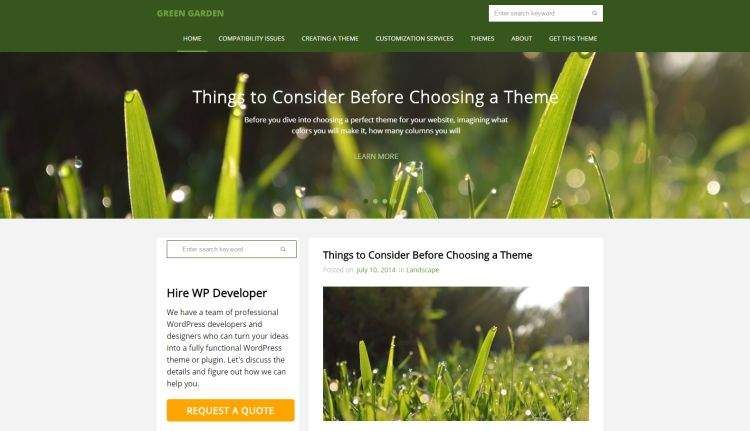 green-garden-free-wordpress-theme