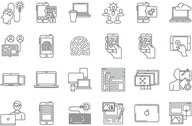icons-web-mobile-development