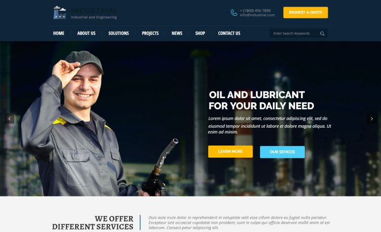 industrial-and-engineering-premium-wordpress-theme