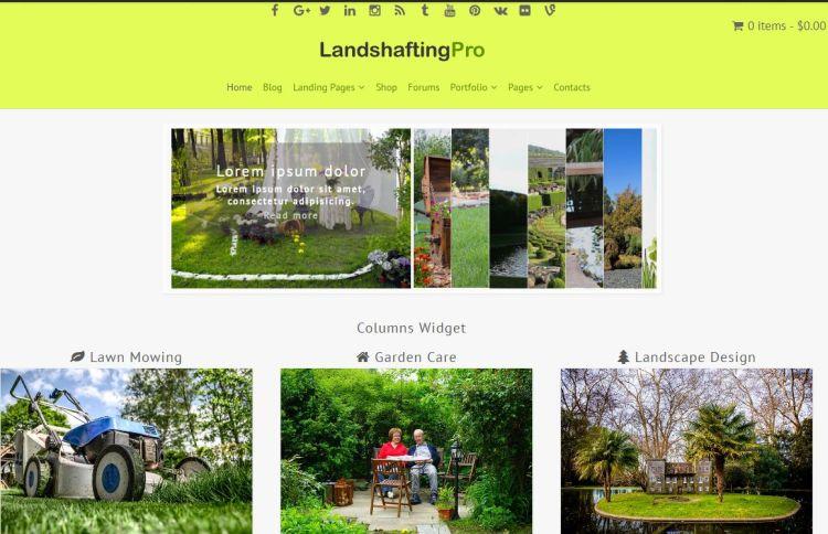 landshafting-free-wordpress-theme