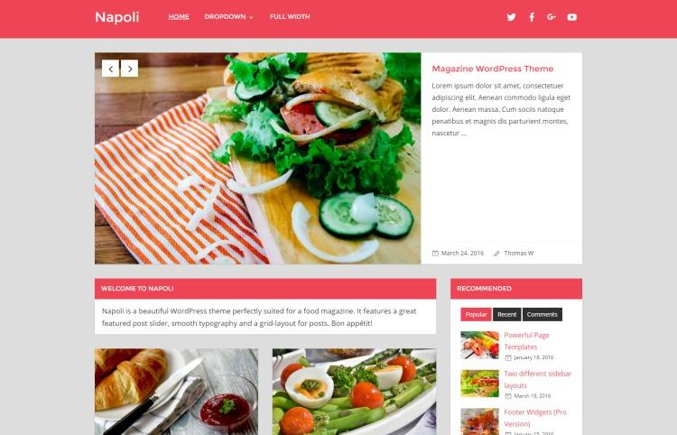 napoli-free-wordpress-theme