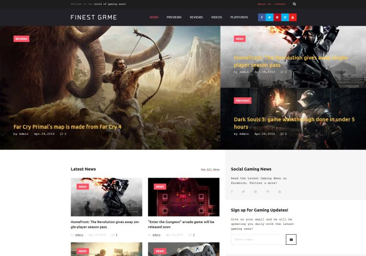 online-games-premium-wordpress-theme