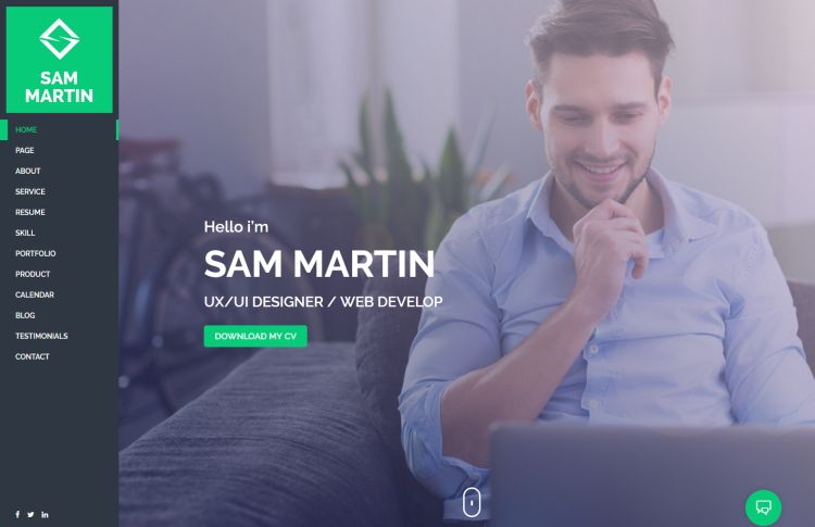 sam-martin-premium-wordpress-theme