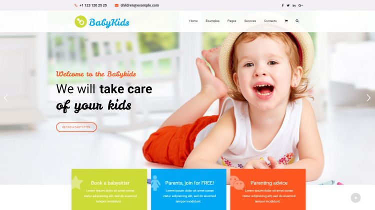 the-children-premium-wordpress-theme