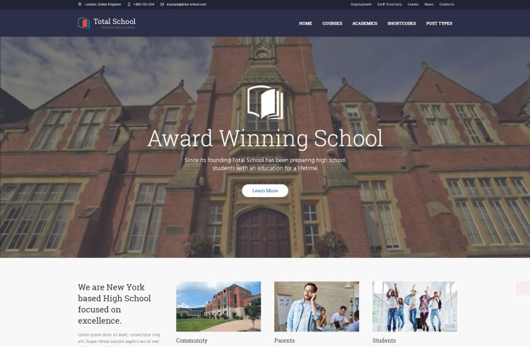 total-school-premium-wordpress-theme