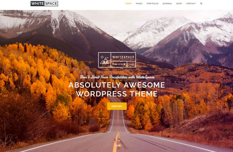 whitespace-premium-wordpress-theme