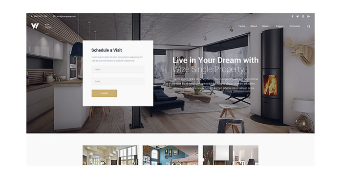 Architecture and Interior WordPress Themes - The Fresh Ones
