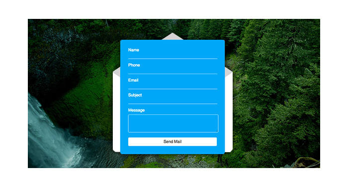 Free HTML and CSS Forms for Your Designs 1