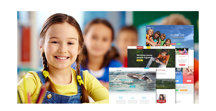 Kids and Children WordPress Themes for February 2017