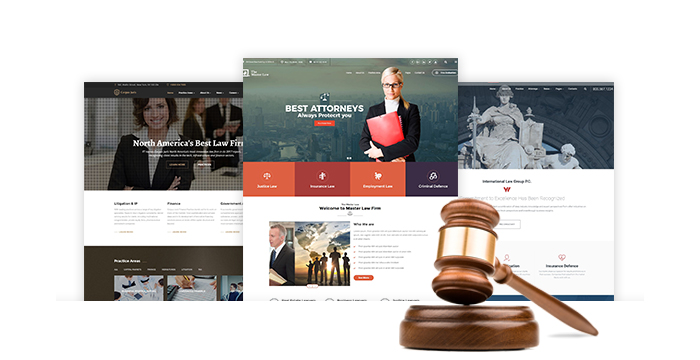Lawyer and Legal Firm WordPress Themes for February 2017