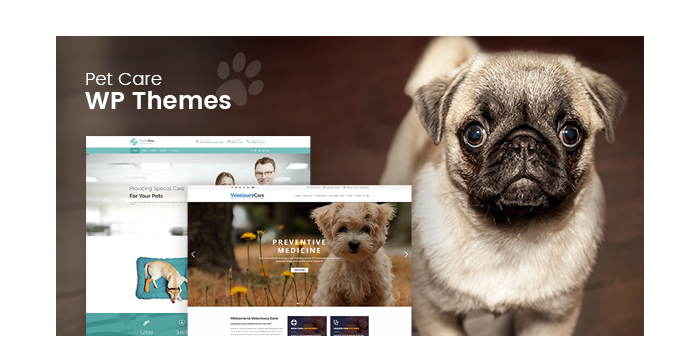Pet Care WordPress Themes for 2017