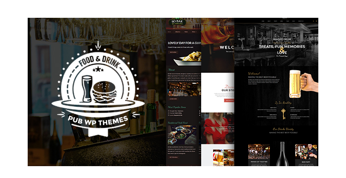 Pub, Beer and Alcohol Drinks WordPress Themes for 2017