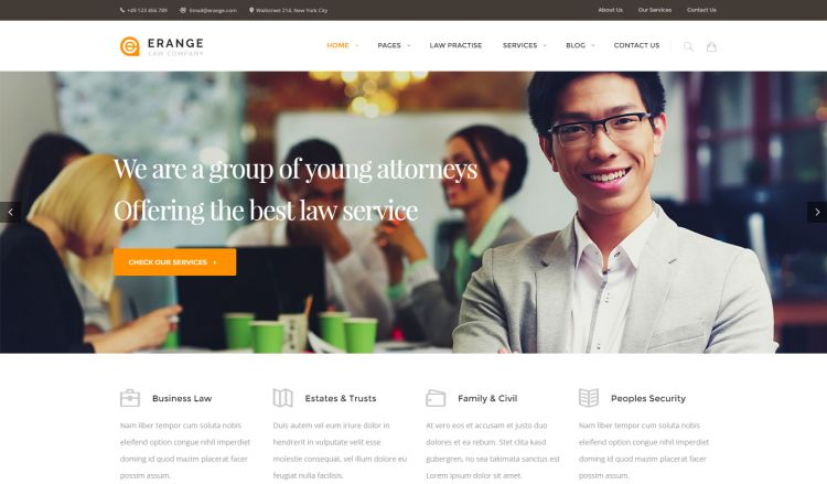 erange-premium-wordpress-theme