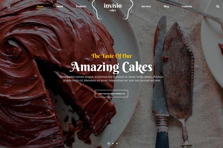invisio-cakes-premium-wordpress-theme
