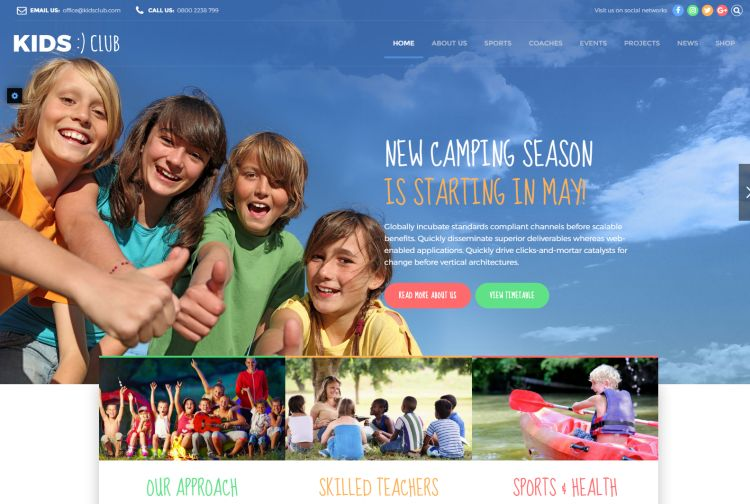 kids-club-premium-wordpress-theme