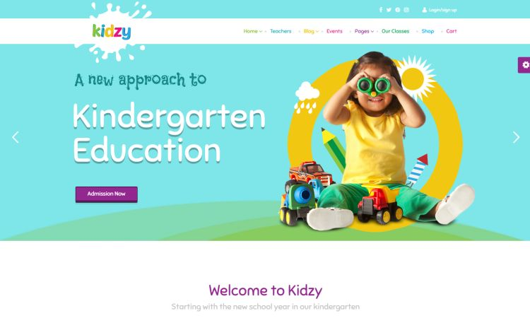 kidzy-premium-wordpress-theme