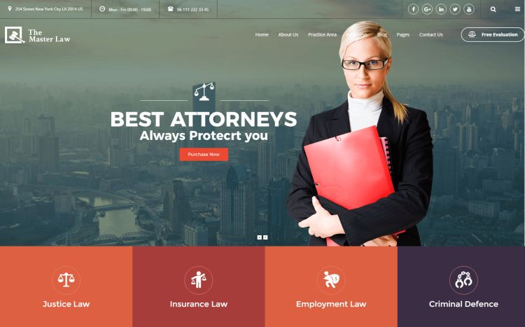 master-law-premium-wordpress-theme