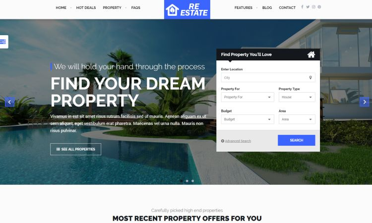 The Freshest Real Estate and Single Property WordPress Themes for ...