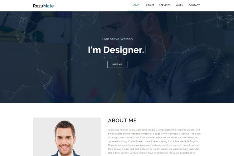 Personal HTML Templates for 2017 | GT3 Themes