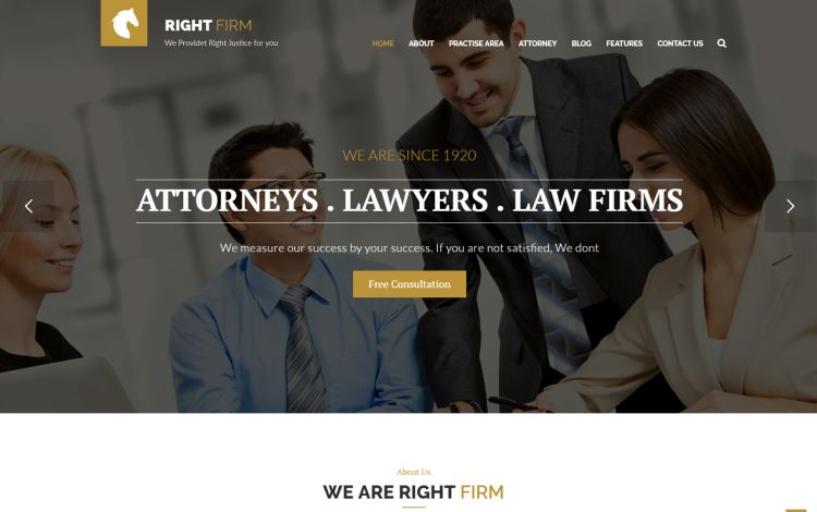 rightfirm-premium-wordpress-theme
