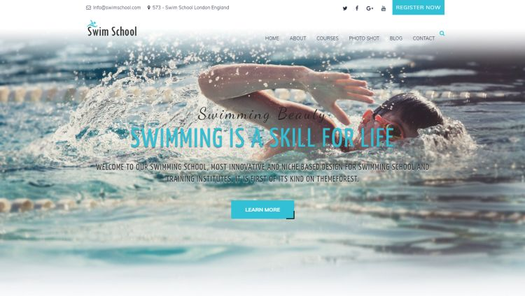 swim-school-premium-wordpress-theme