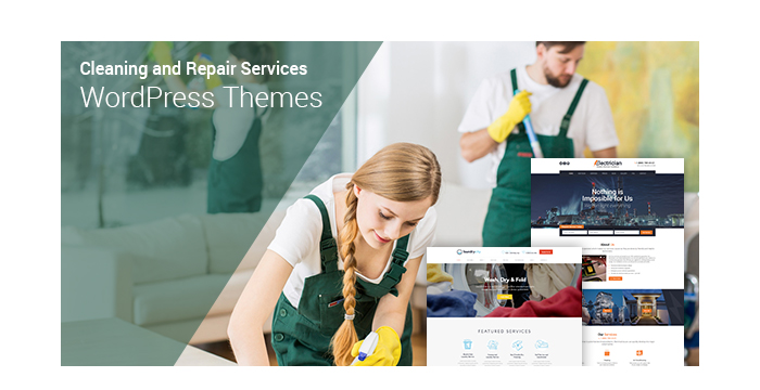Cleaning and Repair Services WordPress Themes for 2017 1