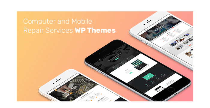 Computer and Mobile Repair Services WordPress Themes