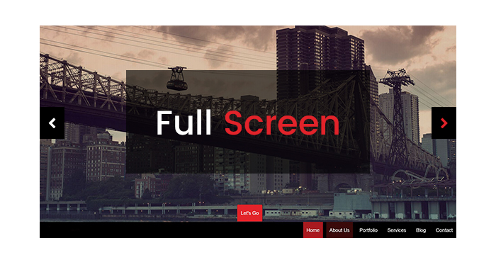 Fullscreen WordPress Themes for March 20171