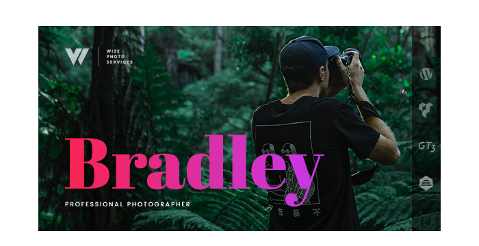 Meet Photography Bradley Services WordPress Theme - WizePhoto